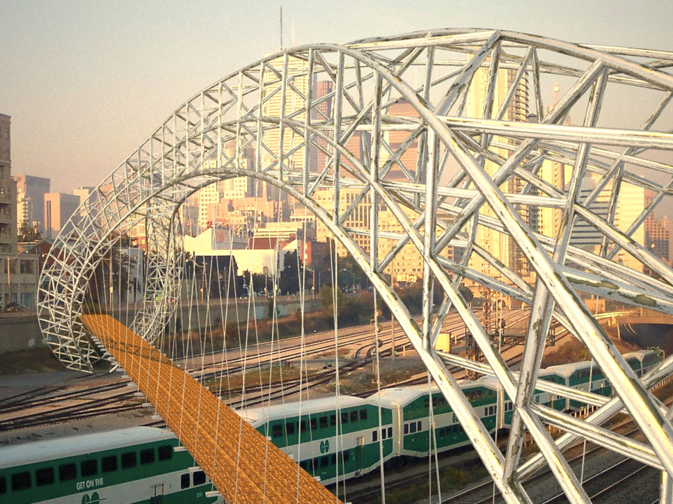 Submission 8: Tyler Brown - Space frame arch with suspended deck ...