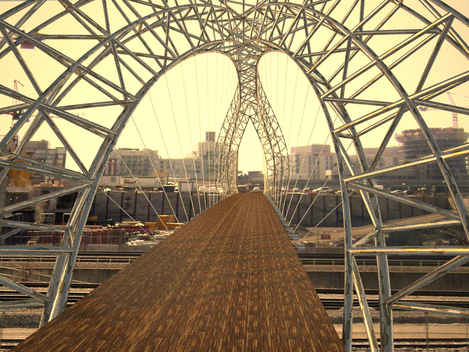 Submission 8 Tyler Brown Space Frame Arch With